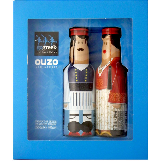 gogreek Ouzo Collectibles 2er