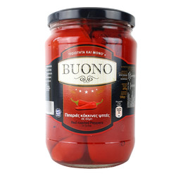 Red roasted Peppers - Buono 695g